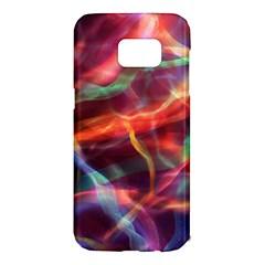 Abstract Shiny Night Lights 4 Samsung Galaxy S7 Edge Hardshell Case by tarastyle