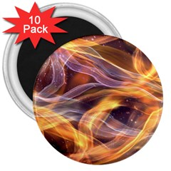 Abstract Shiny Night Lights 6 3  Magnets (10 Pack)  by tarastyle