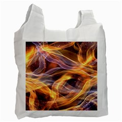 Abstract Shiny Night Lights 6 Recycle Bag (one Side) by tarastyle