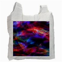 Abstract Shiny Night Lights 7 Recycle Bag (one Side) by tarastyle