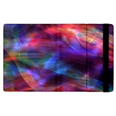 Abstract Shiny Night Lights 7 Apple Ipad 3/4 Flip Case by tarastyle
