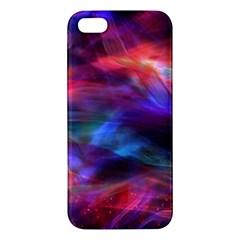 Abstract Shiny Night Lights 7 Apple Iphone 5 Premium Hardshell Case