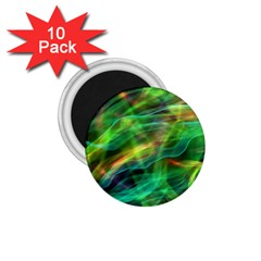 Abstract Shiny Night Lights 8 1 75  Magnets (10 Pack)  by tarastyle