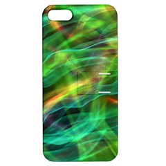 Abstract Shiny Night Lights 8 Apple Iphone 5 Hardshell Case With Stand by tarastyle