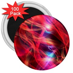 Abstract Shiny Night Lights 9 3  Magnets (100 Pack) by tarastyle