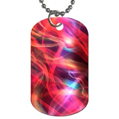 Abstract Shiny Night Lights 9 Dog Tag (two Sides) by tarastyle