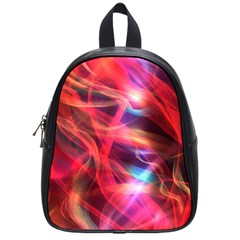 Abstract Shiny Night Lights 9 School Bag (small) by tarastyle