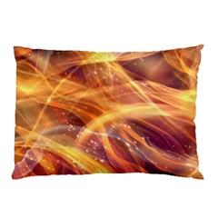 Abstract Shiny Night Lights 10 Pillow Case by tarastyle