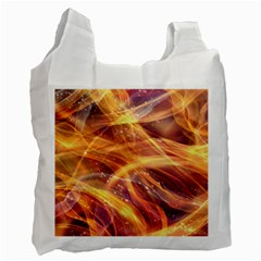 Abstract Shiny Night Lights 10 Recycle Bag (one Side) by tarastyle