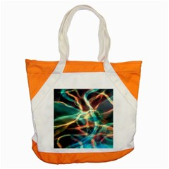 Abstract Shiny Night Lights 11 Accent Tote Bag by tarastyle
