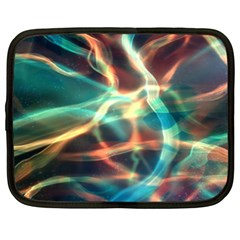 Abstract Shiny Night Lights 11 Netbook Case (xxl)  by tarastyle