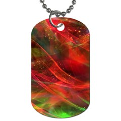 Abstract Shiny Night Lights 12 Dog Tag (two Sides) by tarastyle