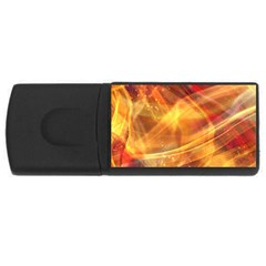 Abstract Shiny Night Lights 13 Rectangular Usb Flash Drive by tarastyle