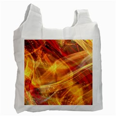 Abstract Shiny Night Lights 13 Recycle Bag (one Side) by tarastyle