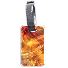 Abstract Shiny Night Lights 13 Luggage Tags (two Sides) by tarastyle