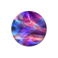 Abstract Shiny Night Lights 14 Magnet 3  (round) by tarastyle