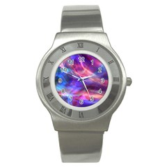 Abstract Shiny Night Lights 14 Stainless Steel Watch by tarastyle