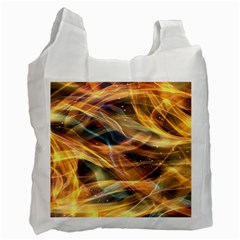 Abstract Shiny Night Lights 15 Recycle Bag (one Side) by tarastyle