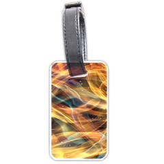 Abstract Shiny Night Lights 15 Luggage Tags (two Sides) by tarastyle