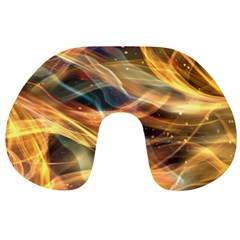 Abstract Shiny Night Lights 15 Travel Neck Pillows by tarastyle