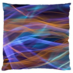 Abstract Shiny Night Lights 16 Large Flano Cushion Case (two Sides) by tarastyle