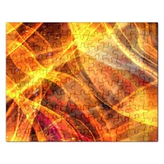 Abstract Shiny Night Lights 17 Rectangular Jigsaw Puzzl by tarastyle