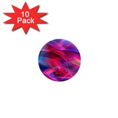 Abstract Shiny Night Lights 18 1  Mini Buttons (10 Pack)
