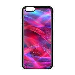Abstract Shiny Night Lights 18 Apple Iphone 6/6s Black Enamel Case by tarastyle