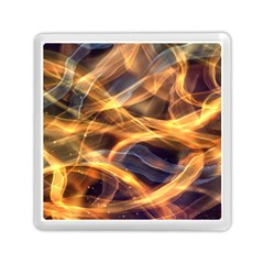 Abstract Shiny Night Lights 19 Memory Card Reader (square)  by tarastyle