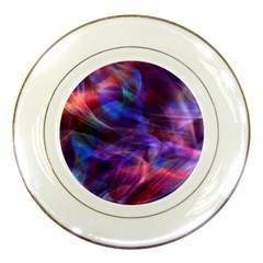 Abstract Shiny Night Lights 20 Porcelain Plates by tarastyle