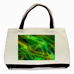 Abstract Shiny Night Lights 21 Basic Tote Bag (two Sides) by tarastyle
