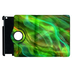Abstract Shiny Night Lights 21 Apple Ipad 3/4 Flip 360 Case by tarastyle