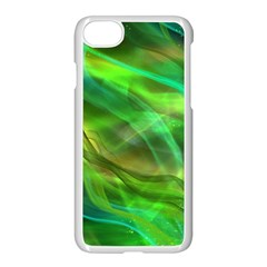 Abstract Shiny Night Lights 21 Apple Iphone 7 Seamless Case (white) by tarastyle