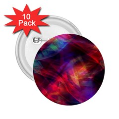 Abstract Shiny Night Lights 23 2 25  Buttons (10 Pack)  by tarastyle
