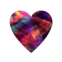 Abstract Shiny Night Lights 23 Heart Magnet by tarastyle