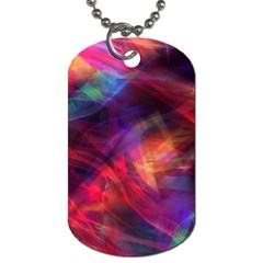 Abstract Shiny Night Lights 23 Dog Tag (two Sides) by tarastyle
