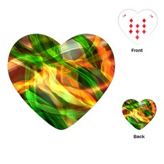 Abstract Shiny Night Lights 24 Playing Cards (heart)  by tarastyle