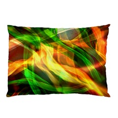Abstract Shiny Night Lights 24 Pillow Case by tarastyle