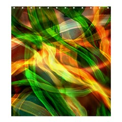 Abstract Shiny Night Lights 24 Shower Curtain 66  X 72  (large)  by tarastyle