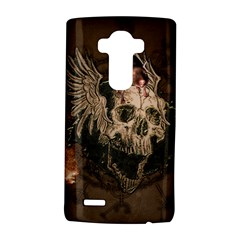 Awesome Creepy Skull With Rat And Wings Lg G4 Hardshell Case by FantasyWorld7