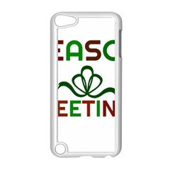 Season Greetings Apple Ipod Touch 5 Case (white) by Colorfulart23