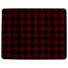 Houndstooth1 Black Marble & Reddish Brown Wood Jigsaw Puzzle Photo Stand (rectangular) by trendistuff