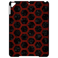 Hexagon2 Black Marble & Reddish Brown Wood (r) Apple Ipad Pro 9 7   Hardshell Case by trendistuff