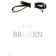 I Am Ok   Broken Shoulder Sling Bags by Valentinaart