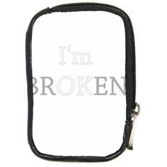 I Am Ok   Broken Compact Camera Cases by Valentinaart