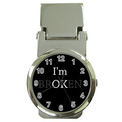 I Am Ok   Broken Money Clip Watches by Valentinaart
