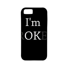 I Am Ok   Broken Apple Iphone 5 Classic Hardshell Case (pc+silicone) by Valentinaart