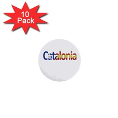 Catalonia 1  Mini Buttons (10 Pack)  by Valentinaart