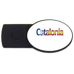 Catalonia Usb Flash Drive Oval (4 Gb) by Valentinaart