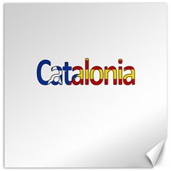 Catalonia Canvas 16  X 16   by Valentinaart